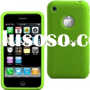 rubber silicone cover for Iphone 3G;