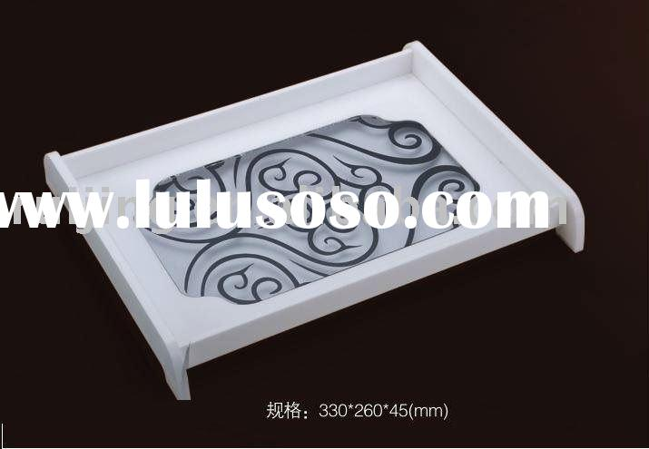 slap-up  acrylic trays for facecloth