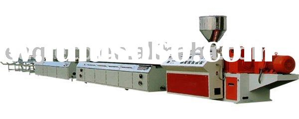 supply Wood Plastic Compound Profile Extrusion Machine