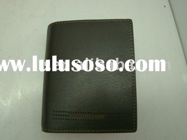 top brand leather wallets
