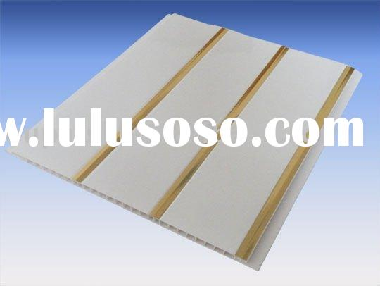 Earth-friendly pvc ceiling tile