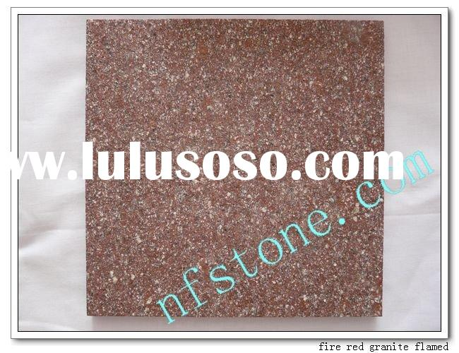 Red Fire Granite : Red granite paving stone for sale price china