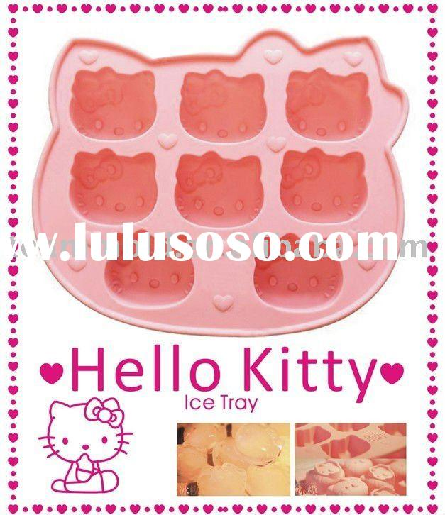 Hot Sale Hello Kitty silicone ice mould