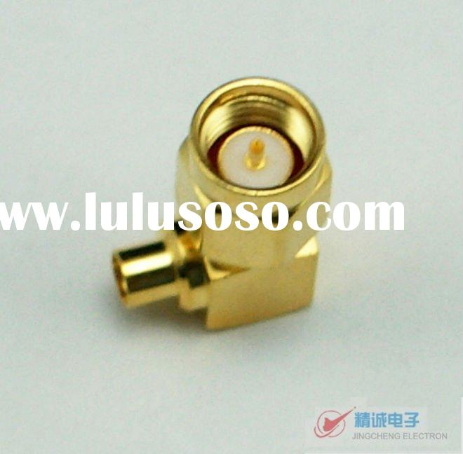 SMA connector,right angle,male for RG405,086