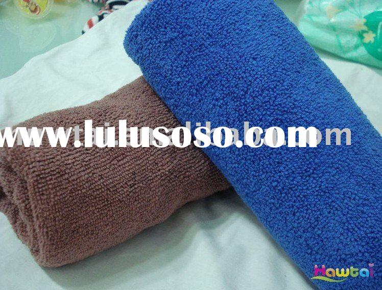 The newest style antibacterial thick microfiber towel with low price
