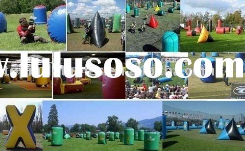 Top inflatable paintball