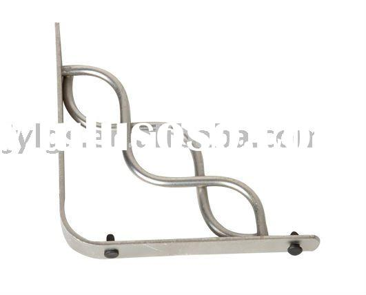 """A"" shape iron wall shelf bracket"