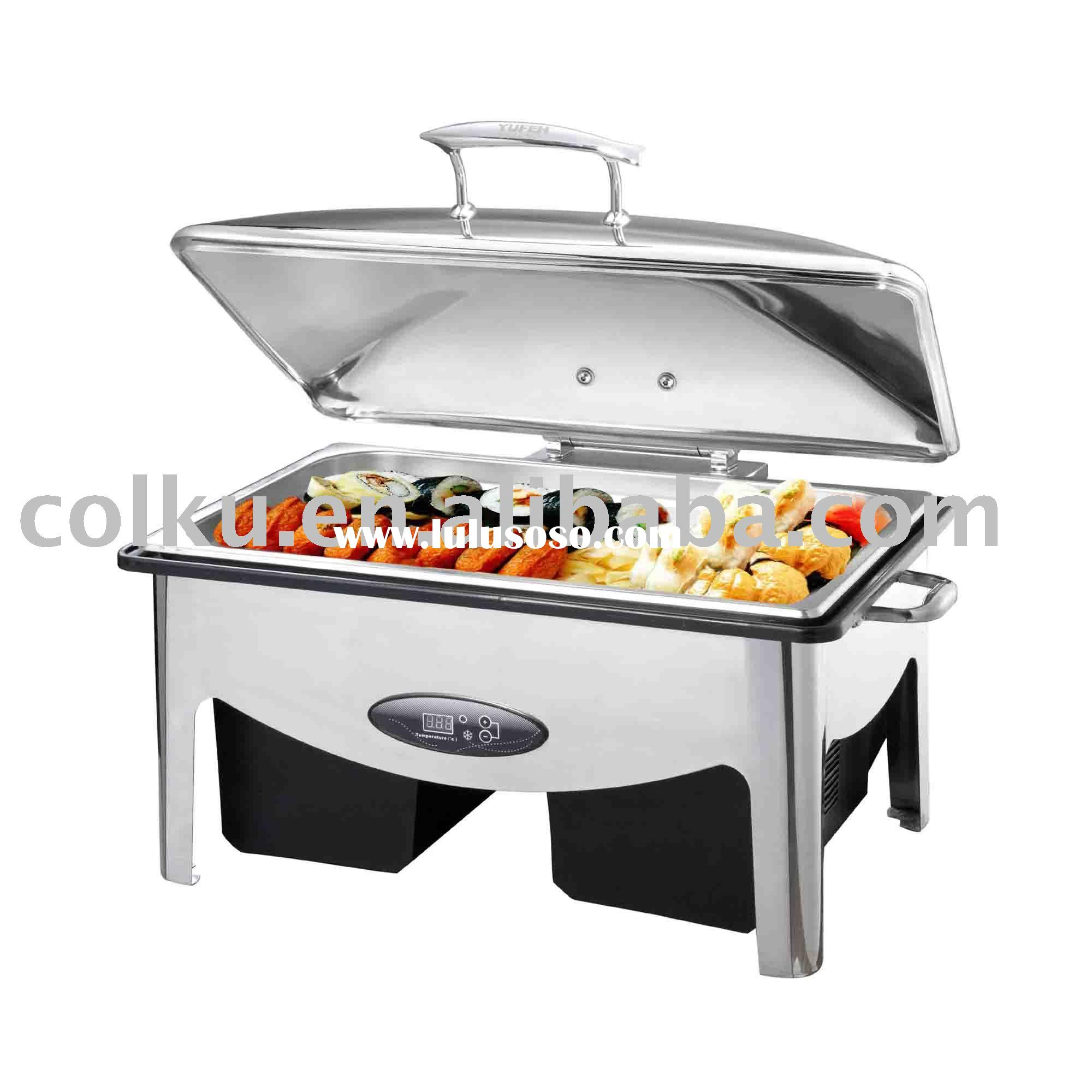 cold & hot serving tray