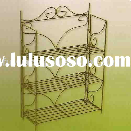 forged steel flower shelf
