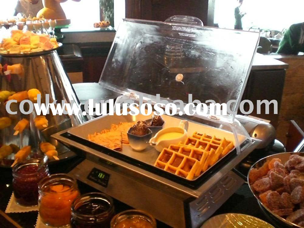 hot/cold buffet tray