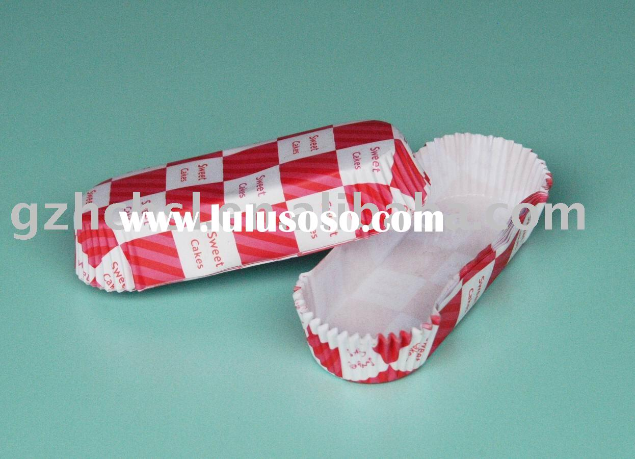 pet paper trays RED WITH WHITE