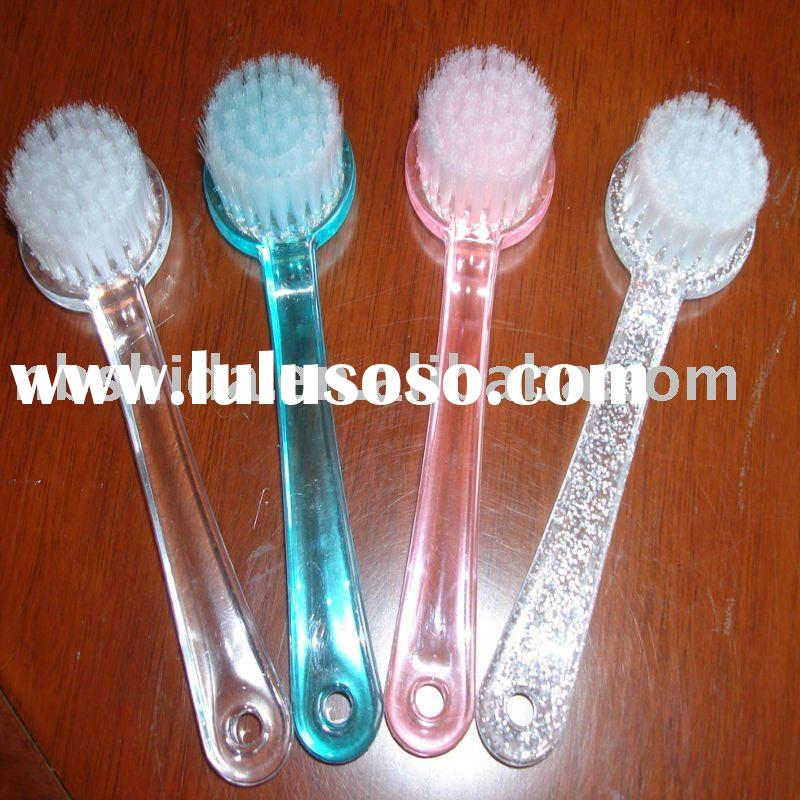 plastic face cleaning brush