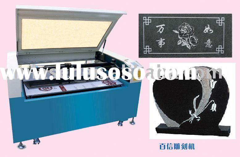 tombstone laser engraving machine (engrave and print)