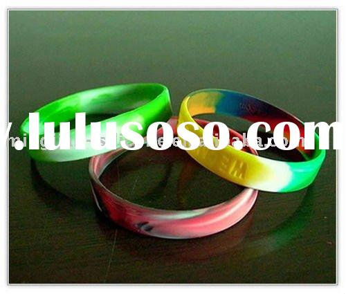 2011  hot sale custom rubber wristbands for events