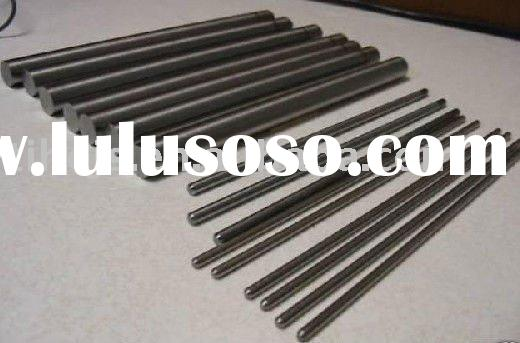 Acid cleaning titanium thread rods