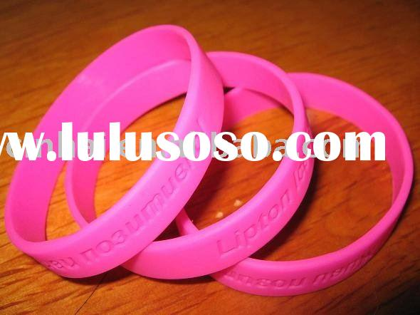 Customized Deboss Silicone Wristband with Cheaper price