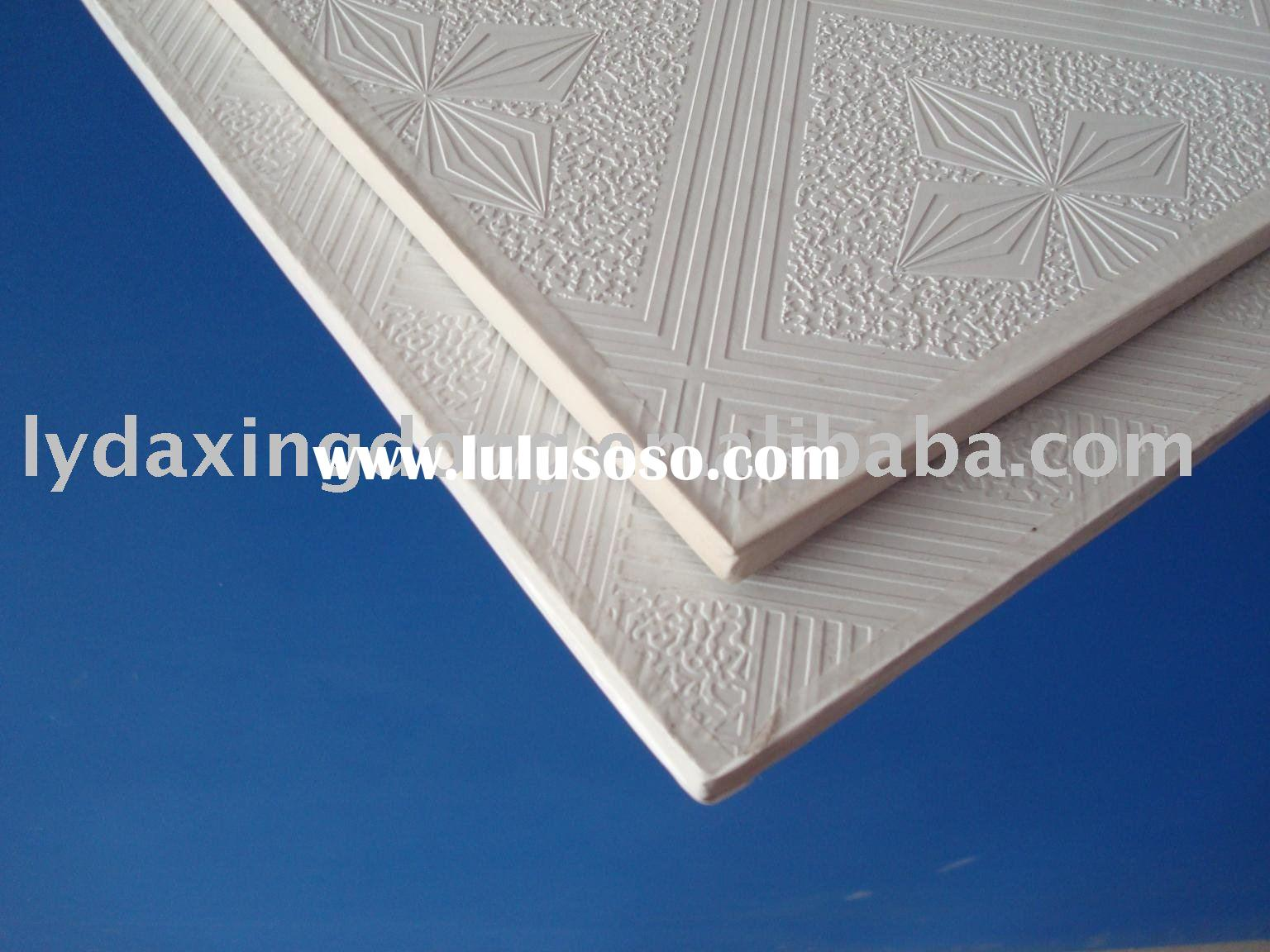 Composite Ceiling Tiles : Interior decorative pvc ceiling waterproof wall boards for