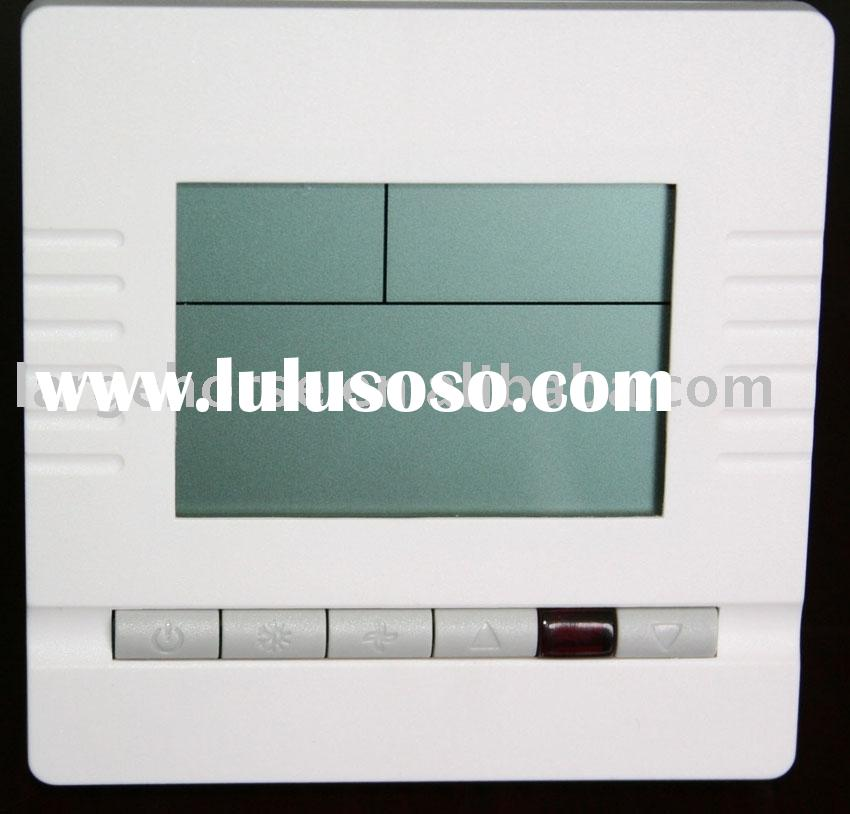 Digital thermostat with big LCD display