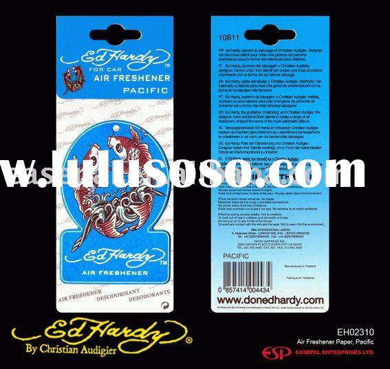 EH02310 Ed Hardy Air Freshener Paper, Pacific