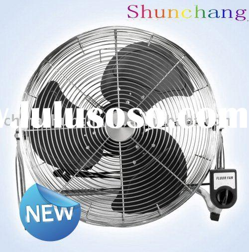 Industrial Axial Flow Fans : High velocity electric industrial floor fans stand fan
