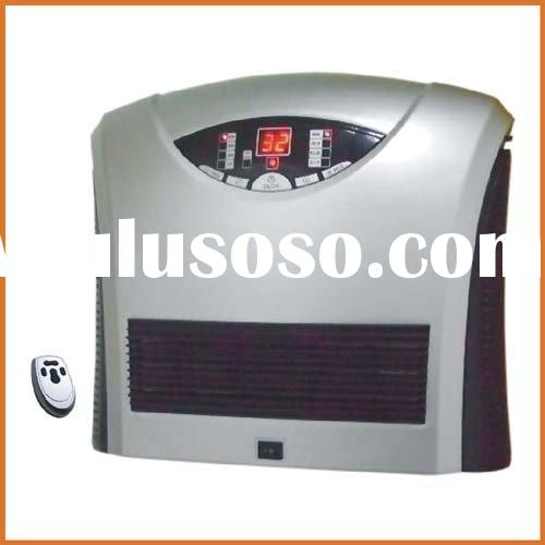 Electrostatic air purifier with heating function
