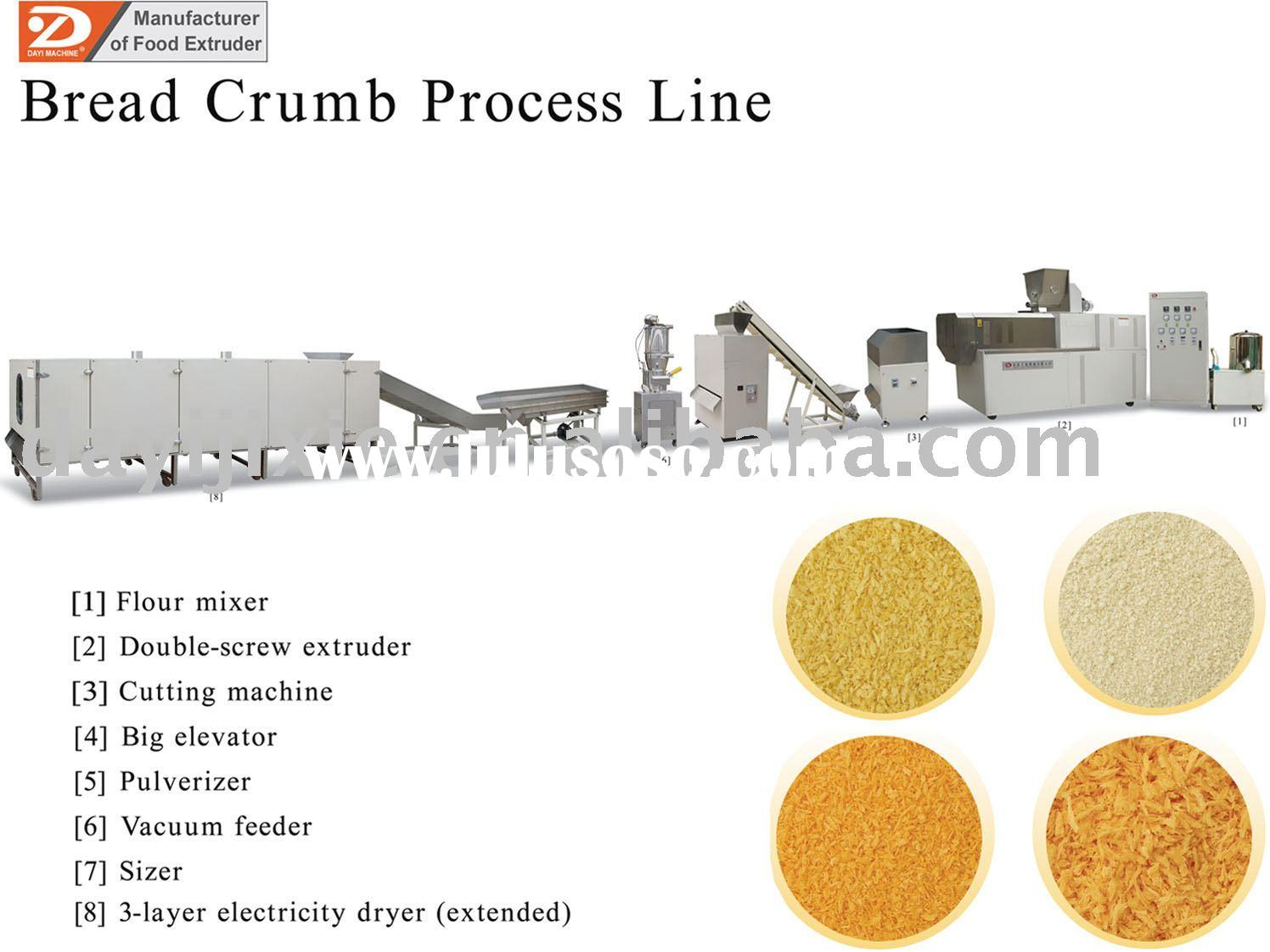 Food machinery: bread crumb