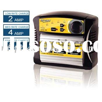 Fully Automatic Multi-Stage Battery Charger for 6/12 Volt Batteries