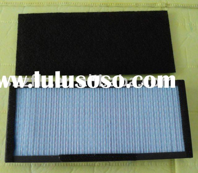 Honeycomb actived carbon air filter screen for vacuum cleaner parts