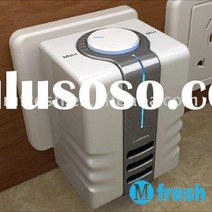 IONIC AIR PURIFIER WITH LIGHT for Bathrooms & Small Spaces