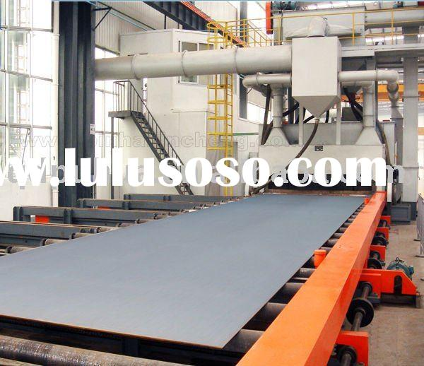 QH69 H section steel portable sandblasting machinery