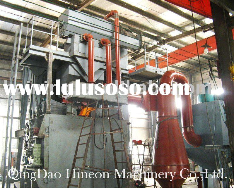 Sell metal tracked type shot blasting cleaning equipment