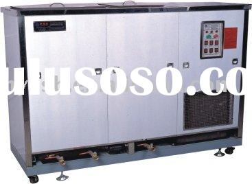 Three tanks Ultrasonic  industrial cleaning machine