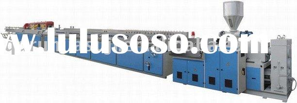 WPC wood plastic composite wall panel extrusion line