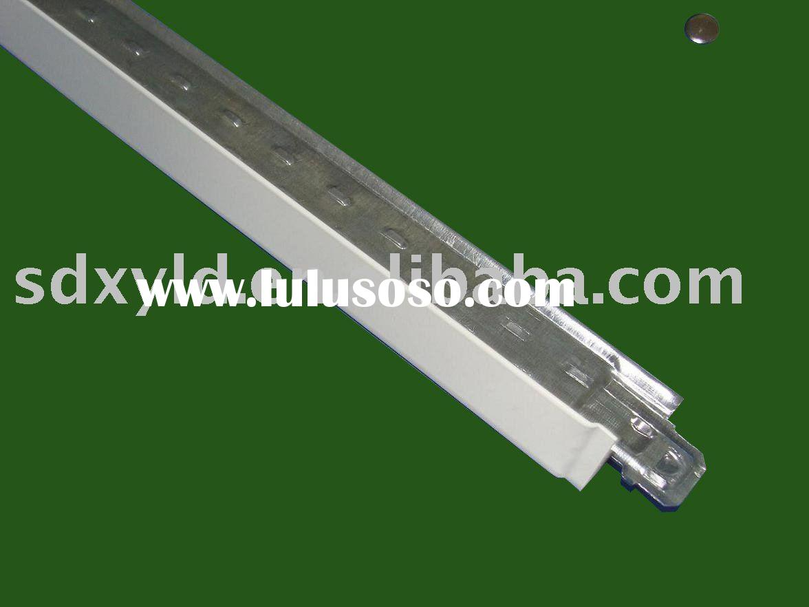 ceiling grids for PVC ceiling tile installation