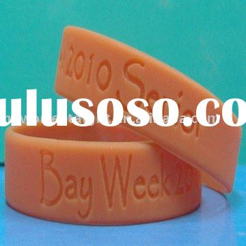 cheap customised silicone wristbands