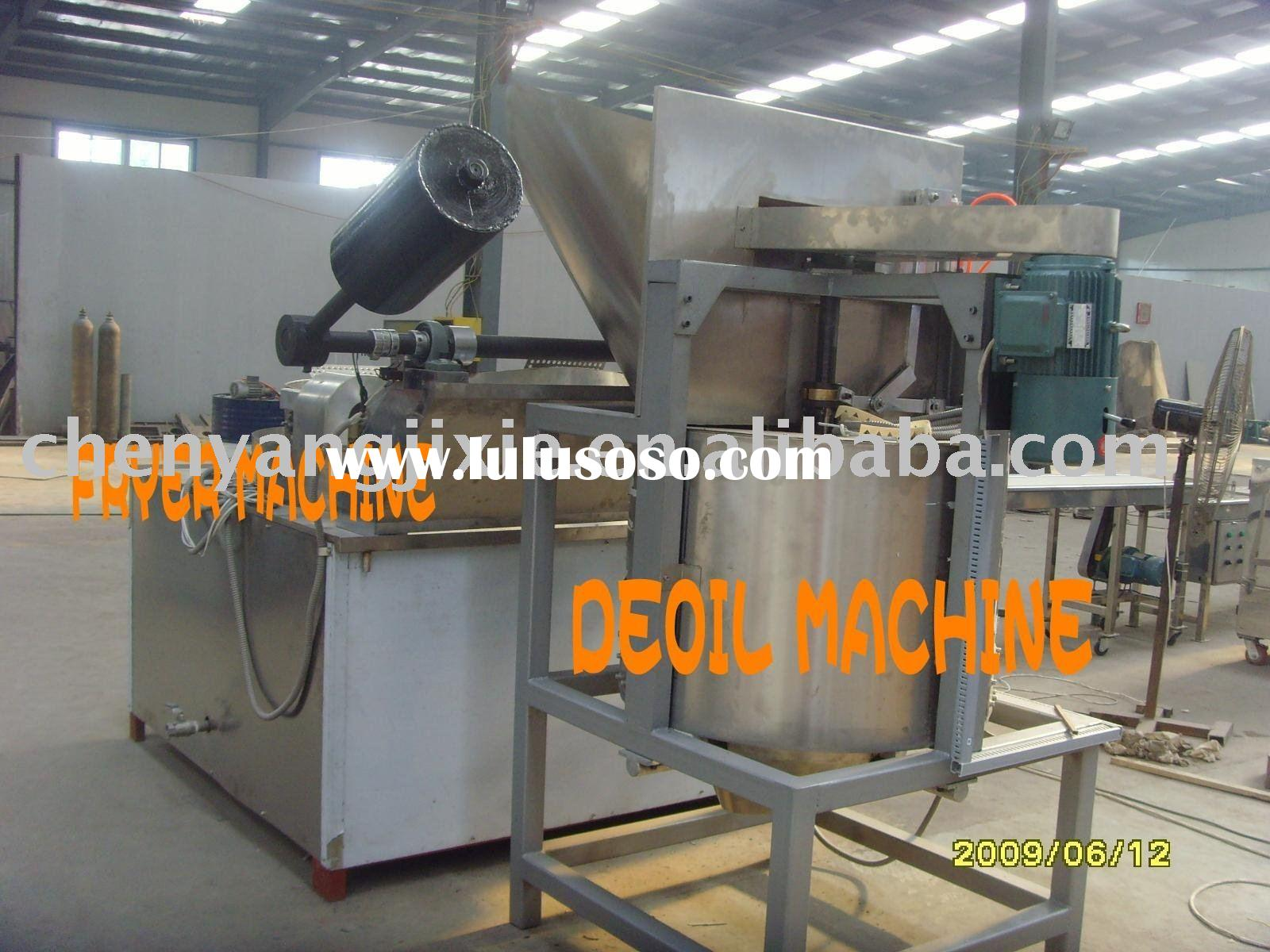 frying chips   Food processing  machinery