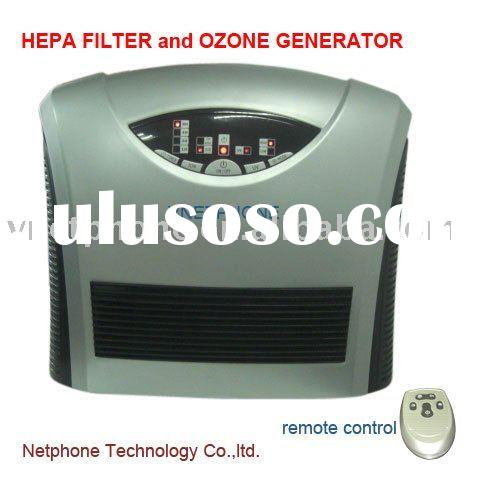 home Air Purifier with HEPA filter and ozone Generator