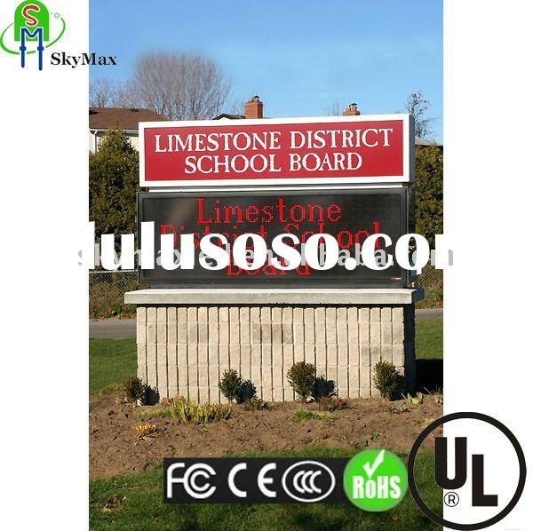 2011 HOT SALE USA electronic outdoor message led sign