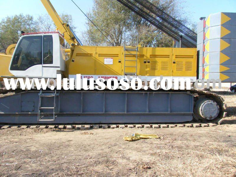 280ton crawler crane,used liebherr crane280t for sale,used truck crane
