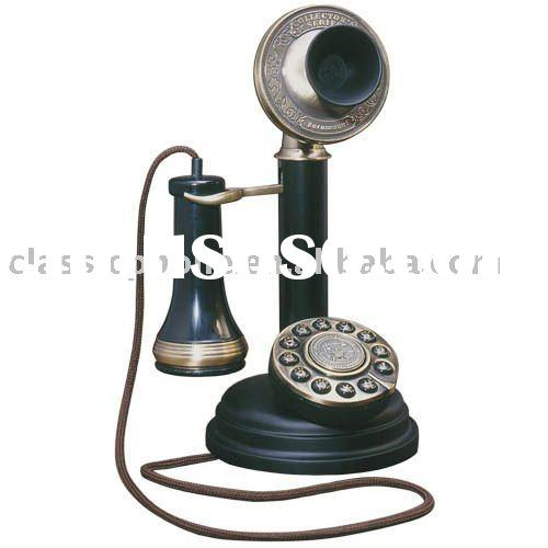 Classicphone Antique phone home decoration Corded telephone The Chicago Stick Phone