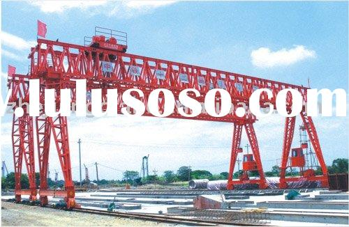 Gantry Crane Used in Precast field: QM100T-28M-10M