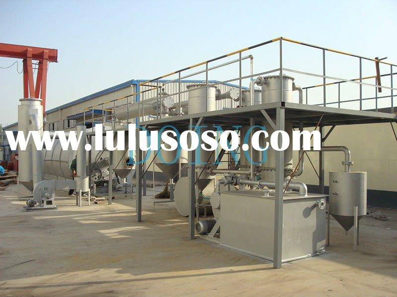 Higher Oil Yield DOING Waste Tyre Pyrolysis Equipment