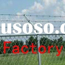 Hot-dipped Galvanized Barbed Wire Fence