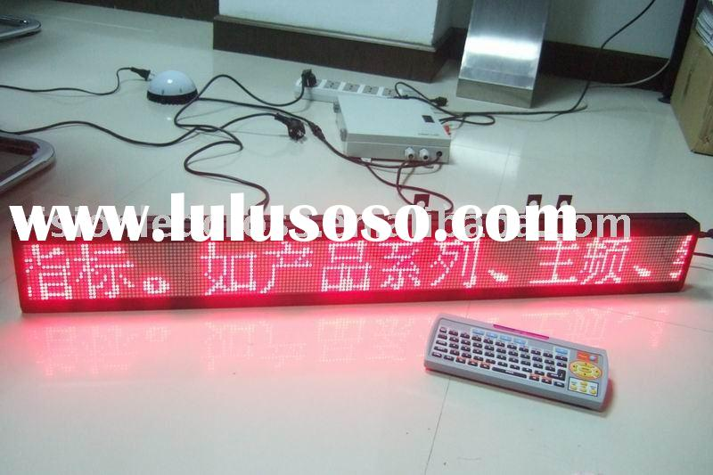 Indoor LED Message Sign
