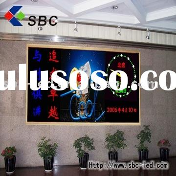Indoor LED message sign advertising scrolling board