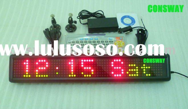 Indoor RGY tricolor digital LED sign