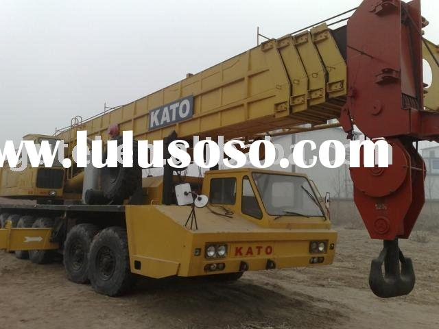 Japan used kato truck crane NK1200