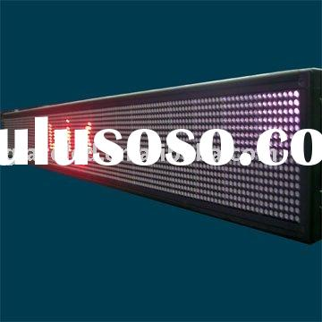 LED programmable advertising sign