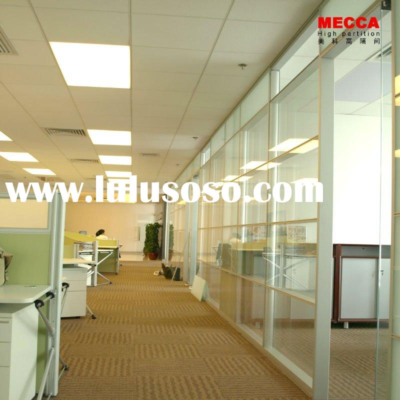 M86 glass wall partition system