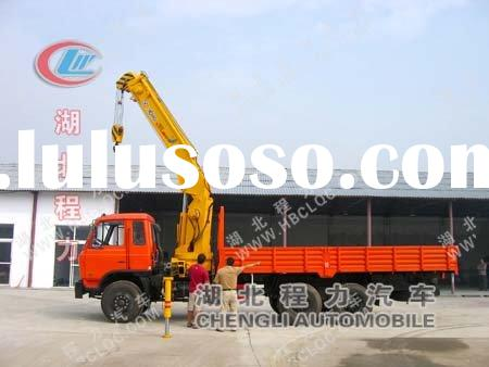 Manual Hydraulic Truck Crane for sale!